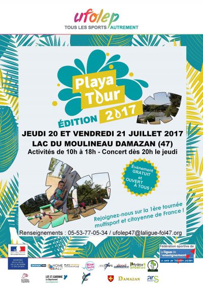 UFOLEP Playa Tour 2017  - Copie